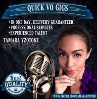 Voice over for your business or web videos!