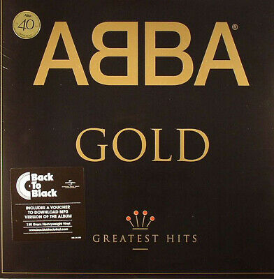 ABBA - Gold - 2 x 180 Gram Vinyl LP & Download NEW & SEALED