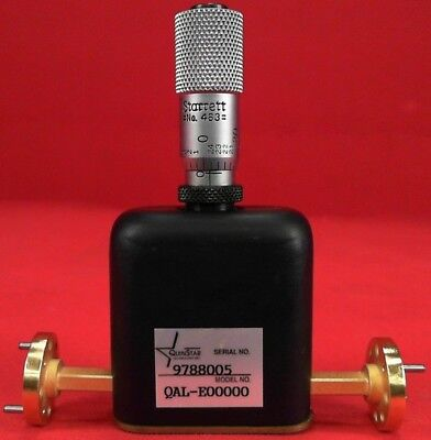 Qal-e00000 Level Set Attenuator Low Vswr 60-90 Ghz Wr-12 0-25 Db Variable