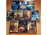 Job lot 10 DVDs action/thriller (bundle #16)