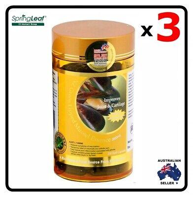 Homart Springleaf NZ Green Lipped Mussel Essence 2000mg 200 capsules