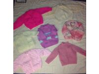 Baby girls knitted cardigans- sell separate or job lot