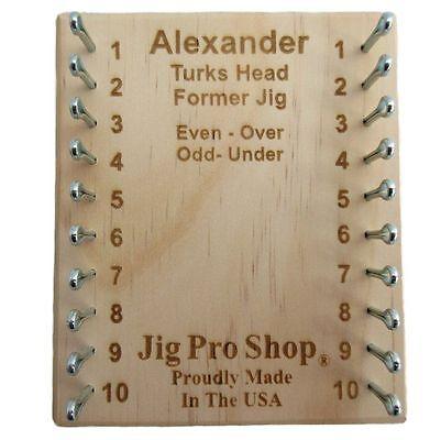- Jig Pro Shop Alexander Turks Head Former Paracord Jig