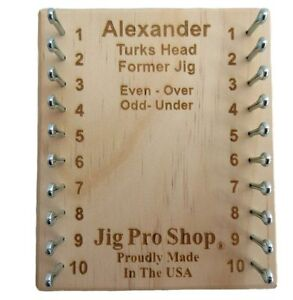 Jig Pro Shop Alexander Turks Head Former Paracord Jig