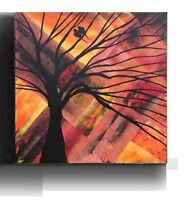 FALL SALE Abstract painting Acrylic Canvas Art
