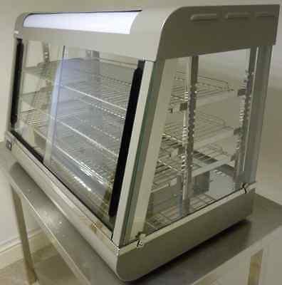 New Infernus Heated Display Cabinet Food /Pie /Chicken Warmer Showcase-66cm