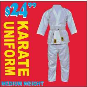 KARATE UNIFORM, MEDIUM WEIGHT, (905) 364-0440 WWW.FIGHTPRO.CA