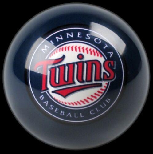 BLUE MINNESOTA TWINS MLB TEAM BILLIARD GAME POOL TABLE CUE 8 BALL REPLACEMENT