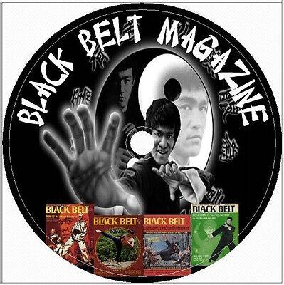 133 Black Belt Magazine Issues CD DVD Bruce Lee Martial Arts Vintage lot defence