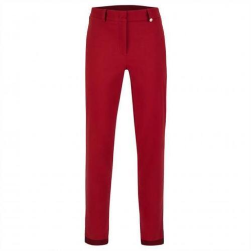NWT Golfino Ladies CLUB TROUSERS 5360926 369 Red Sz 8 10 NEW