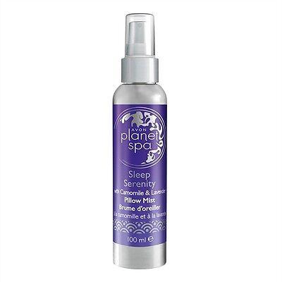 Lavendel Körper-spray (AVON Planet Spa SLEEP SERENITY Körperspray Kissenspray mit Kamille & Lavendel)