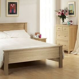 Corndell Nimbus solid oak bedroom furniture