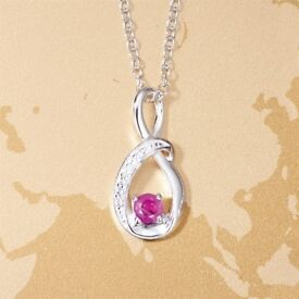 Willa Ruby Necklace