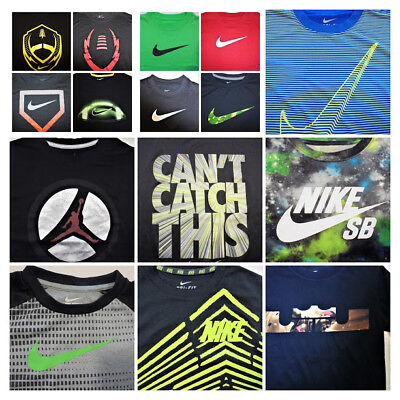 CLEARANCE SALE $ 12 All Boys NIKE Shirts Tee shirts Youth Sport Play ALL Sizes - Clearance Boys