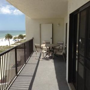 Beach Front Condo for Rent in Madeira Beach
