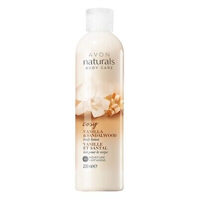 Avon Naturals Vanilla & Sandalwood Body Lotion (Avon Naturals Vanilla Body Lotion)