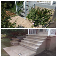 Concrete  interlock repair service