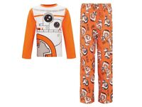 star wars pyjamas age 9-10 years old