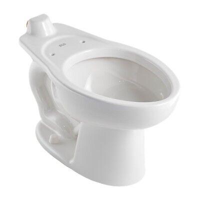 "American Rating Madera 1.1-1.6GPF Elongated Toilet w/ 16.5"" Seat - Wall Mount"