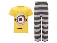 Despicable Me Kids pyjamas brand new in packaging. Different age sizes