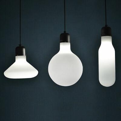 Modern Frosted White Glass Suspended Lighting Ceiling Pendant Light A Style 110V