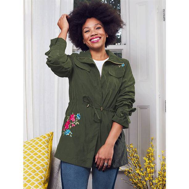 Coveted Embroidered Utility Jacket