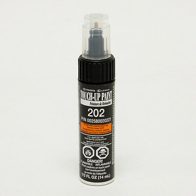 Toyota Touch-Up Paint 202 Black : 00258-00202-21