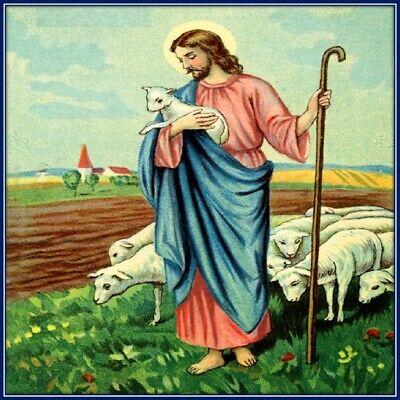 30 Custom Shepherd Jesus Personalized Address Labels
