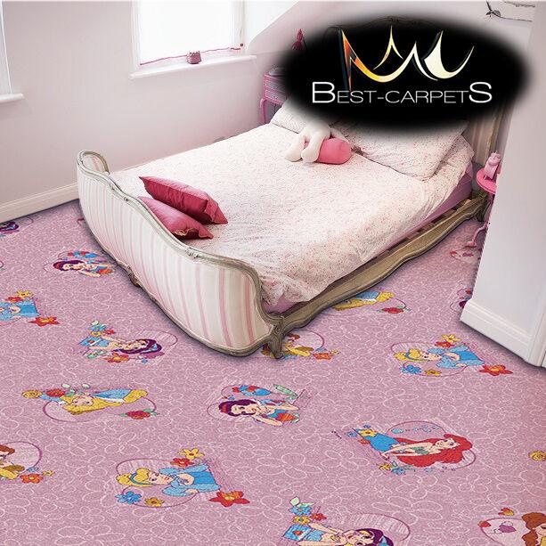 per bambini tappeto principessa rosa disney camera da letto area giochi ragazze