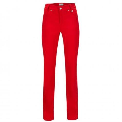 NWT Golfino Ladies SOFIA TROUSERS TECHNO STRETCH 3369225 367 Red 2 4 6 8 10 12