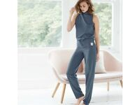Harpa High-Neck Jumpsuit
