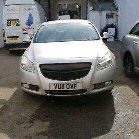2011 Vauxhall Insignia Sri Cdti 2.0 Diesel Full year MOT