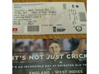 England v West Indies ticket