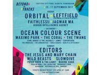 Beyond the Tracks Sunday tickets *Editors*