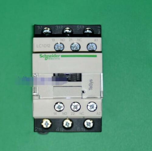 1PC Used Schneider LC1D12-BD BL DC24V DC contactors free shipping