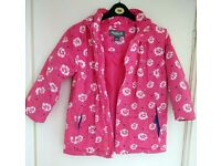 Girls REGATTA Waterproof & Breathable WARM Padded Coat - Age 9-10