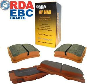 Ford RDA Front & Rear Brake Pads to suit FORD TERRITORY TS, TX GHIA