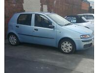 Fiat punto 1.2 MOT till TOMORROW