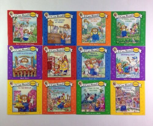 Little Critter Childrens Phonics I Can Read Books Early Readers Lot 12