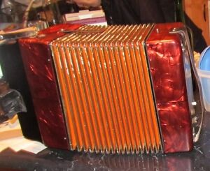 Hohner 'Erica' Accordion for sale.