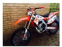 Honda CRF250r , 2014 & £2400 ono