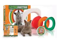 Litter Kwitter cat toilet training kit