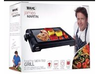 "TABLE TOP GRILL "" JAMES MARTIN"" BRAND NEW ""ONE YEAR WARRANTY"""