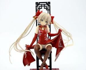 yosuga no sora Kasugano Sora red cheongsam pvc figure toy anime collection new