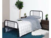 Brand new (still in box) single bed frame