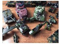 Huge job lot/bundle Boys Army toys vehicles