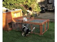 Rabbit hutch and run - Now sold