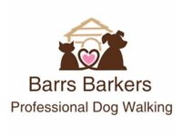 Barrs Barkers Professional Dog Walking