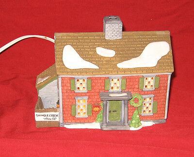 Department 56 New England Village Series Shingle Creek House 1990