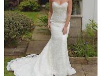 Maggie Sottero Lorie Wedding Dress UK 12 Petite Length